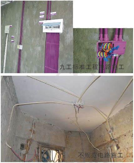电路管线施工-样板工程-永州装修公司|永州装饰公司